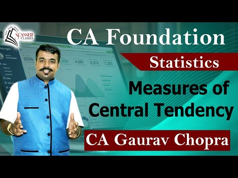 Statistic Lecture by Scanner Classes National Academy Of Commerce