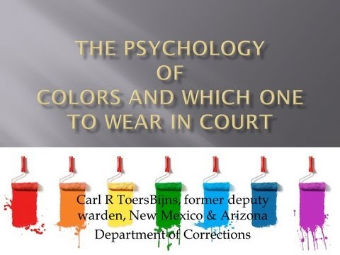 Download Wearing the Right Colors to Court - Do attorneys do this? Mp4 HD Video and MP3