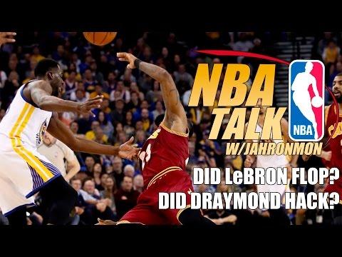 NBA Talk: Did LeBron James Flop?