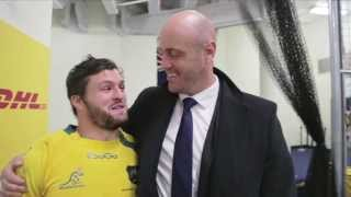 Adam Ashley-Cooper Takes Fox Sports Into The Wallabies Sheds.
