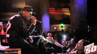 August Alsina - 'Let Me Hit That' & 'Bandz' @ SOB's in NYC