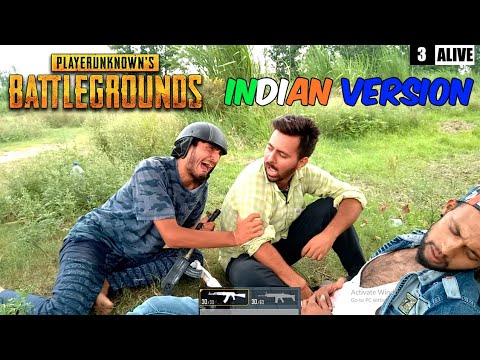 PUBG In Real Life INDIAN VERSION || Real life of Pubg India ||