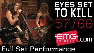 """Eyes Set to Kill"" plays an entire set live for EMGtv"