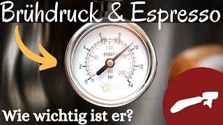 Wie wichtig ist der Brühdruck beim Espresso? Messen und Einstellen an der Rancilio Silvia