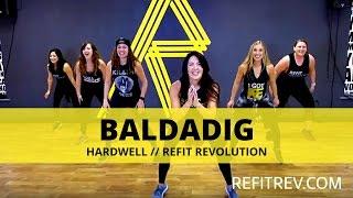 'Baldadig' || Hardwell || Dance Fitness Cardio || REFIT® Revolution