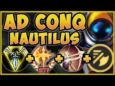 WTF!? ANCHOR SMASH NAUTILUS IS 100% TOO STUPID! NAUTILUS SEASON 9 TOP GAMEPLAY! - League of Legends