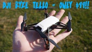 DJI'S SMALLEST $99 DRONE YOU NEVER HEARD OF!! || DJI Ryze Tello Review