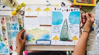 Take Me Back To This GREEK ISLAND!   Travel Journal With Me