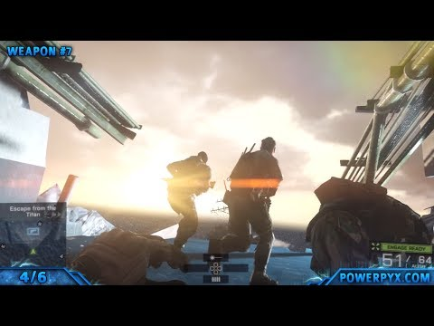 Battlefield 4 - All Collectible Locations (Dog Tags & Weapons) - Mission 3: South China Sea