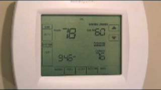 Horizon Services, Inc. - How To Use Your Honeywell VisionPRO IAQ Thermostat - Part 5