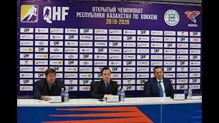 ОЧРК 2019/2020 Пресс-конференция тренеров после двух матчей «Хумо-2» – «Алтай Торпедо»