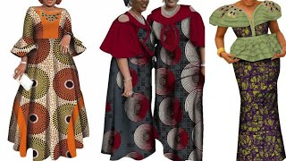 40+ AFRICAN DRESSES: MOST STYLISH AND FLAWLESS African Fashion Ankara Styles For Beautiful Ledies