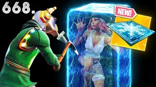 *NEW* FREEZE TRAP BEST PLAYS..!!! Fortnite Funny WTF Fails and Daily Best Moments Ep.668