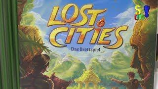 Kurzerklärer Lost Cities - Das Brettspiel - Kosmos - Spielwarenmesse 2018