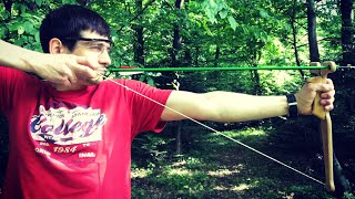 Рогатка для рыбалки со стрелами своими руками