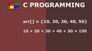 Download Youtube: C Program to Calculate Sum of Array Elements | Hindi
