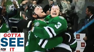 GOTTA SEE IT: John Klingberg Fires Series-Winning OT Goal Past Pekka Rinne