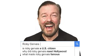 Ricky Gervais Answers the Web's Most Searched Questions | WIRED