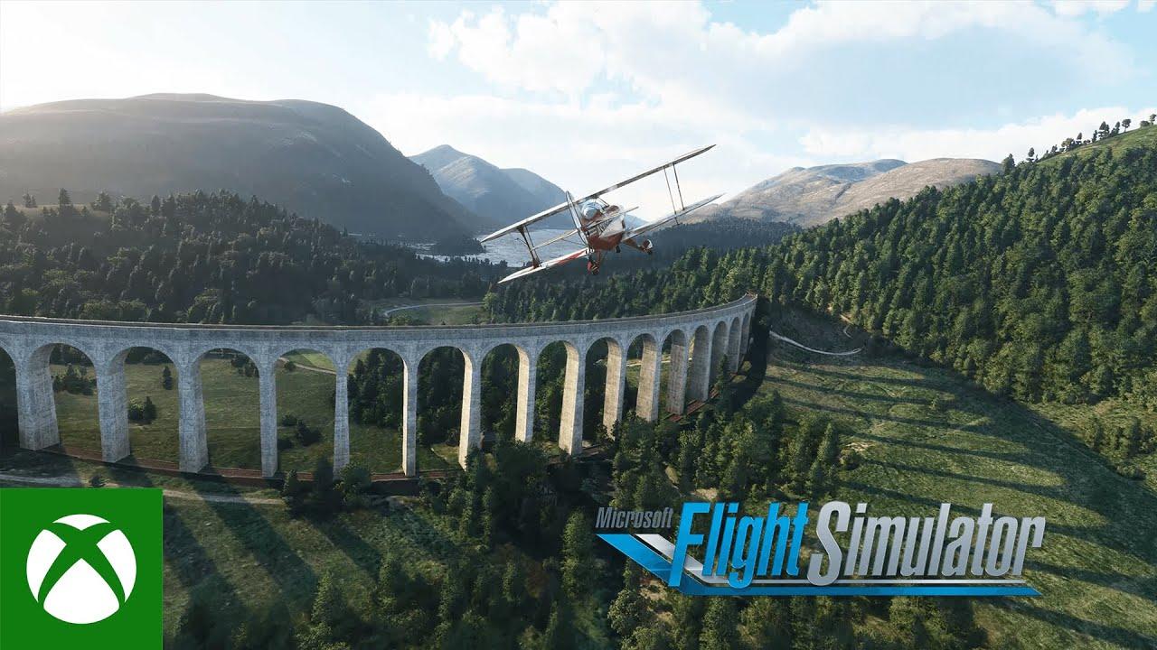 Microsoft Flight Simulator Microsoft Flight Simulator – United Kingdom & Ireland World Update Video Still
