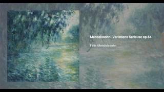 Variations sérieuses, Op. 54
