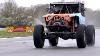 Chris Harris Lap: Ultra4 | Extra Gear | BBC