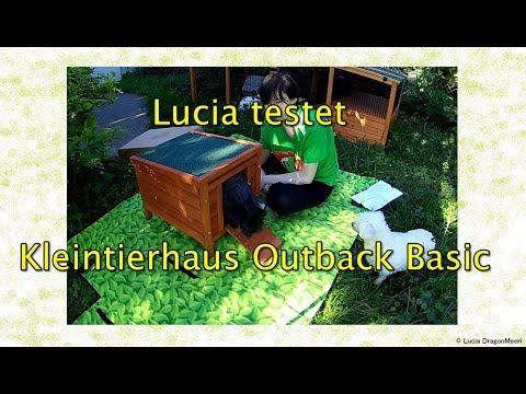 Lucia testet Kleintierhaus Outback Basic