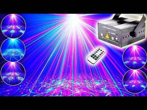 DJ Laser Light ESHINY Holiday Party Effect