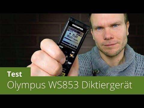 Diktiergerät Olympus WS-853 im Test (inkl. Sprachtest)