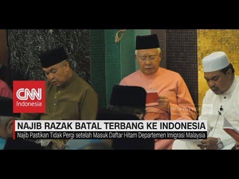 Batal Ke Indonesia, Najib Razak Dicekal Mahatir