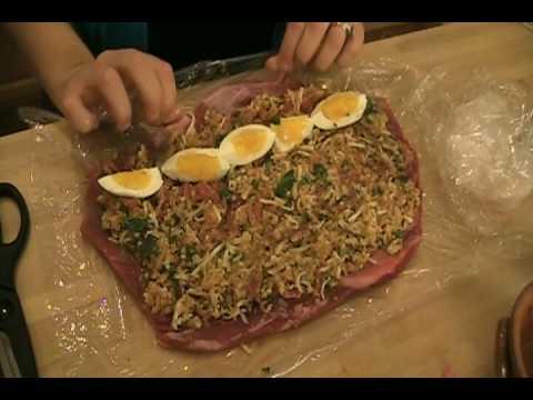"""Braciole Recipe / How to make Braciole -Laura Vitale """"Laura In The Kitchen"""" Episode 24"""
