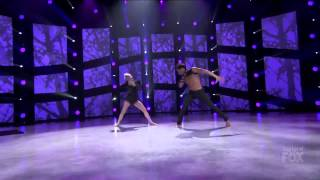 Hailee and all star Robert SYTYCD top 6 season 12