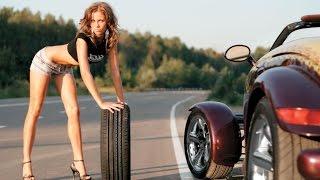 #ВРуле - Пробил 2 колеса сразу