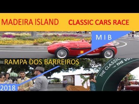 RAMPA DOS BARREIROS- Classic cars- Madeira island 2018