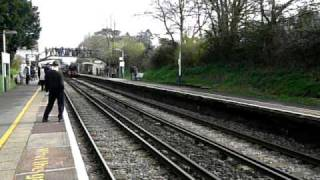 preview picture of video 'Oliver Cromwell Steam Train 2009'