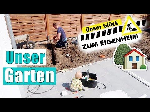 GARTEN TOUR 🌳 | Fortschritte & Gartengestaltung | Haus Einkauf | Isabeau