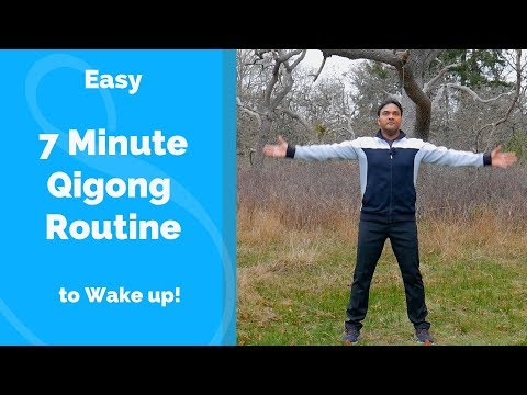 7 Minute Qigong Routine - Easy Beginner Practice to Invigorate the ...