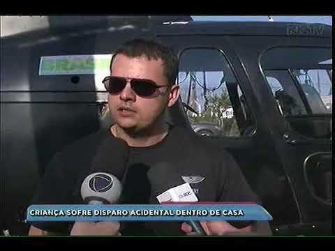 Águas de Chapecó: criança sofre disparo acidental dentro de casa