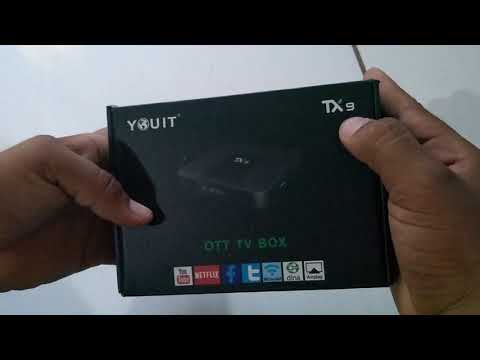 Download UNBOXING TV BOX - TX9 HD Mp4 3GP Video and MP3