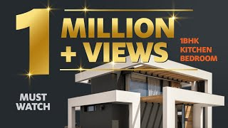1 BHK Flat Low Cost | Simple Kitchen Design Tour | Simple Bedroom | Part 2 - Workbook