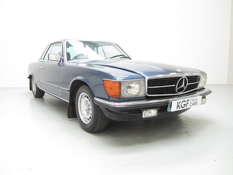 Luxurious Two Owner Mercedes-Benz 280SLC In Superb Original Condition - SOLD!