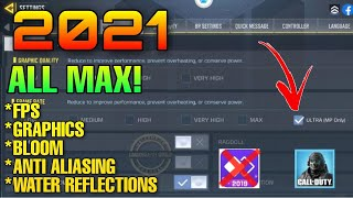 HOW TO UNLOCK MAX 60FPS IN CALL OF DUTY MOBILE | GRAPHICS TOOL FOR COD MOBILE | GET 90 FPS CODM 2021