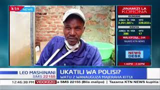 Ukatili wa Polisi: Watu wawili wanauguza majeraha Kitui