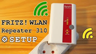 FRITZ! WLAN Repeater 310 Wi-Fi extender • Unboxing, installation, configuration and test
