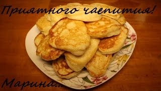 Смотреть онлайн Рецепт как приготовить оладьи на кефире в мультиварке