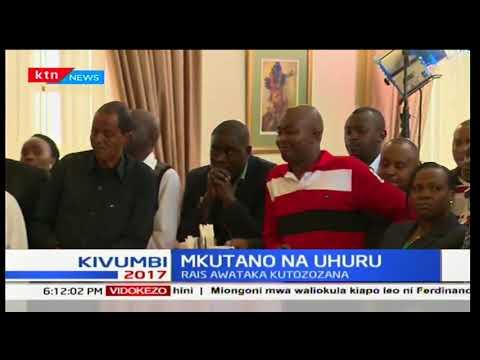 Rais Uhuru Kenyatta akutana na viongozi wa Jubilee waliochaguliwa Nairobi kuzungumza ajenda yao