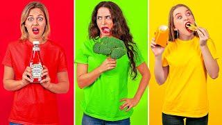 15 TIPOS DE COMENSALES || Situaciones divertidas y momentos comunes por 123 GO! Spanish