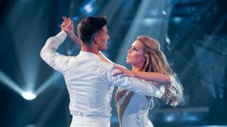 Abbey Clancy & Aljaz Skorjanec Waltz to 'Kissing You' - Strictly Come Dancing 2013 Week 1 - BBC One