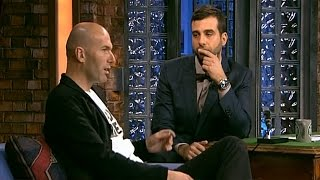 Вечерний Ургант - Зинедин Зидан/Zinedine Zidane и Диана Арбенина,Billy