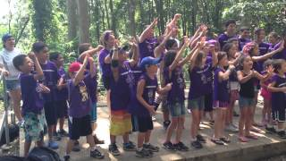 Purple Team Chant Maccabiah 2013