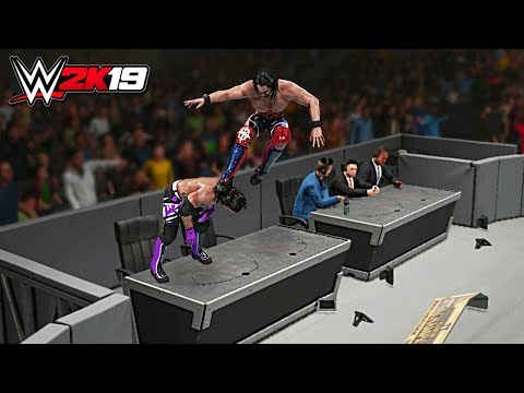 WWE 2K19 Top 10 Extreme Curb Stomps!